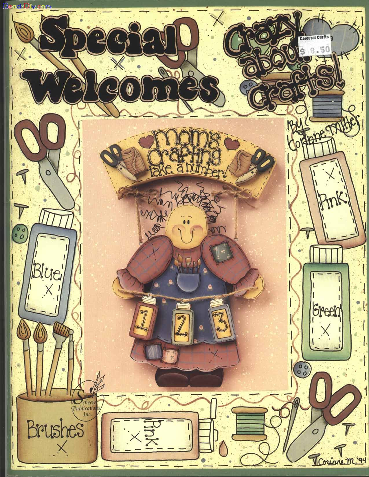 Special Welcomes Crazy About Crafts 01 FC.jpg