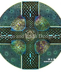 Celtic Cross - Heaven and Earth Designs