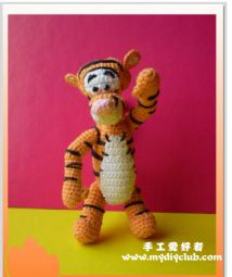 How to crochet tiny tigger