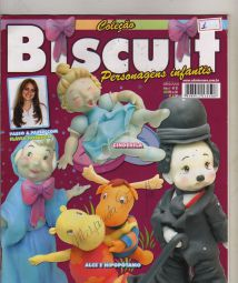 Colecao Biscuit - Personagens Infantis n1+Maos que Criam N 02