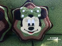 Minnie and Mickey Mouse Applique