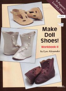 (人偶皮鞋)Make Doll Shoes! Workbook II
