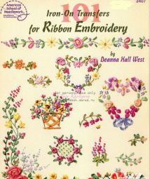 101 ribbon embroidery