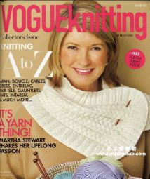 Vogue knitting holiday 2011