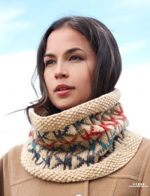 Aztec cowl, in English
