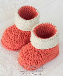 Autumn Blaze Baby Booties