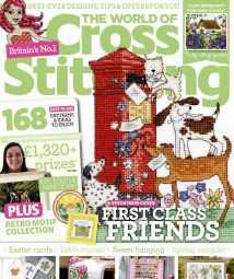 The World of Cross Stitching Issue 279 April 2019