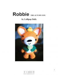 Robbie the Autumn Fox