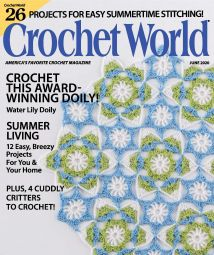 Crochet World  June 2020
