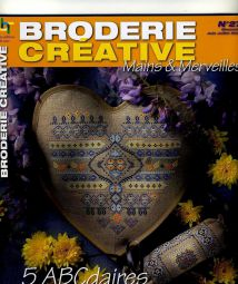 Mains & Merveilles 27 - Broderie Creative ABCdaires