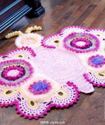 Cathy the Butterfly Rug