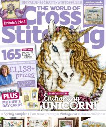 The World of Cross Stitching  Issue 278 March 2019