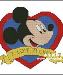 I Love Mickey (101wX91h)