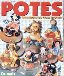 Potes Decorados com Biscuit No.1