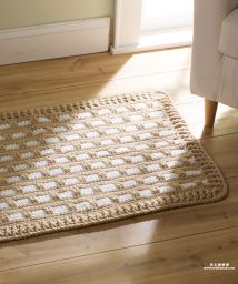 Hearth & Home Rug Crochet Pattern