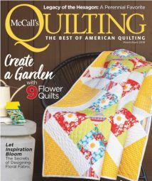McCall's Quilting - MarchApril 2019