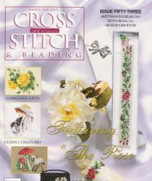 Jill Oxton`s Cross Stitch - 53 - and Beading