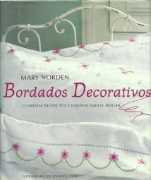 Libro Bordados Decorativos