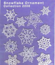 snowflake ornament collection 2006