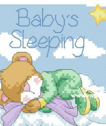 Baby's Sleeping Sign(71*58)