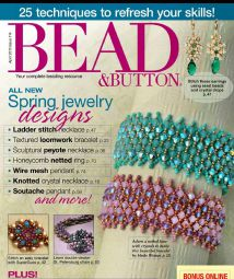 Bead - Button Apr 2013