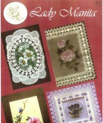紙蕾絲-Parchment Craft - Lady Manita Pack 2