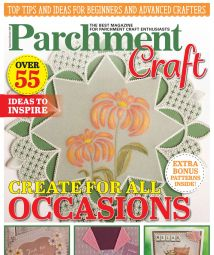 Parchment Craft - September October 2020